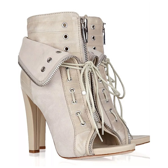 Authentic Alexander Wang Leather Booties